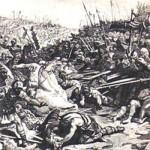 La battaglia del 554
