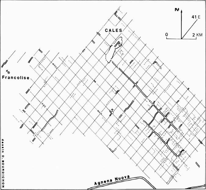 La centuriazione di Cales II