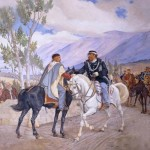 Il luogo esatto dello storico incontro del 26 ottobre 1860