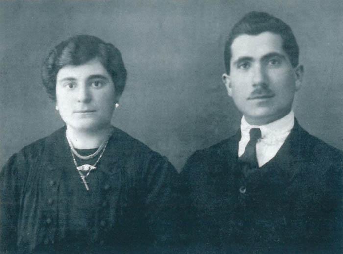 Pietro Cifone e la moglia