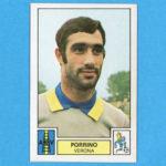 Il calciatore di Serie A Giuseppe Porrino